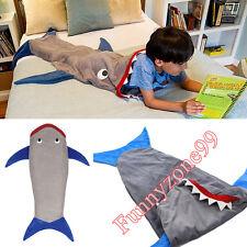 Shark Animal Sleeping Bag Kids Children Girls/Boys Overalls Blanket Wrap Lapghan