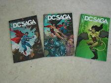 DC SAGA Superman + Supergirl + Superboy- n°1 à 3- Lot de 3 comics