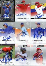 FRANKLIN BARRETO SIGNED 2014 RIZE DRAFT ROOKIE CARD AUTO