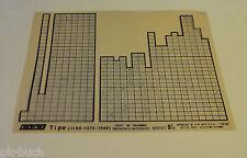 Microfich Catalogo parti di ricambio FIAT TIPO (1100 - 1370 - 1580) 60331811