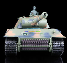 HengLong 1/16 German Panther RC Tank Sound Airsoft Smoke Plastic Version 3819