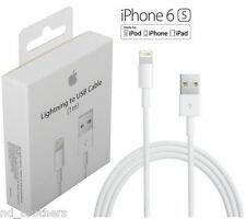 Original Genuine Apple iPhone 5 5S C 6 6S iPad Air iPod Charger Data Cable .