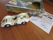 Cox .049 1960's Chaparral nitro tether race car 1:20 Chevrolet Jim Hall orig box