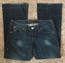 Womens True Religion Denim Jeans Size 31 100% Cotton Made in USA