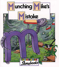 Munching Mike's Mistake (Letterland Storybooks), Keith Nicholson, Lyn Wendon