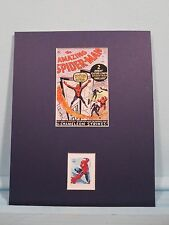 Marvel Comics Hero Spiderman and the Fantastic Four & his own Stamp
