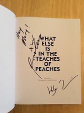 SIGNED x2 - What Else Is in the Teaches of Peaches Holger Talinski + Pic HC New