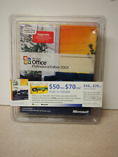 Microsoft Office Professional Edition 2003 Upgrade New Sealed Box Upgrading To