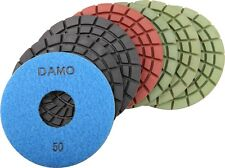 "5"" 5.0mm Wet Polishing Pads Set of 7 PCS for Granite / Concrete / Stone Floor"