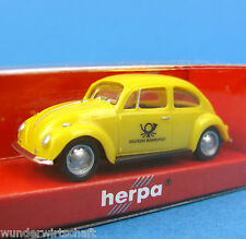 Herpa H0 044462 VW KÄFER Post DBP Deutsche Bundespost PKW OVP HO 1:87 Box