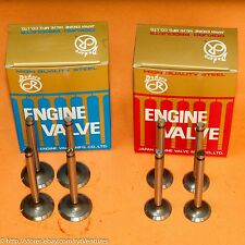 Heavy-Duty Engine Valve Set Intake Exhaust Fits Toyota 3K 4K 5K 7K Engines