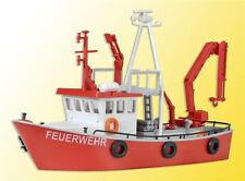 39154 Kibri HO Kit of Fire-fighting boat - NEW