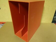 STACKABLE PVC LP-BOX FOR +- 50 LP'S IN RED COLOR