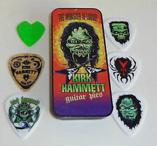 "METALLICA KIRK HAMMETT ""MONSTER"" Pick Tin Collector's 6 pick tin NEW SEALED"