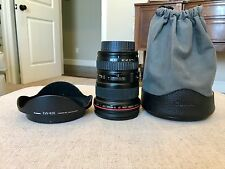 Canon EF 17-40mm f/4 L USM Lens EXCELLENT WITH HOOD AND CASE