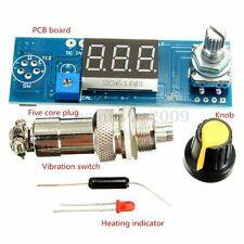 Digital Soldering Station Display  Temperature Control Board Air Outlet Knob T12