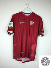 SEVILLA 03/04 Away Football Shirt (L) Soccer Jersey Joma