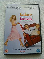 FAILURE TO LAUNCH ROMANTIC COMEDY FILM DVD SARAH JESSICA PARKER BRADLEY COOPER
