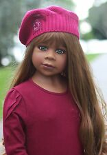 NWT Masterpiece Dolls Gianna RARE Light Brunette GREEN EYES By Monika Levenig