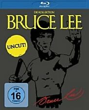 BRUCE LEE - DIE KOLLEKTION (UNCUT) 4 BLU RAY NEU
