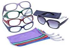 Joy Mangano Shades Readers Reading Glasses Glam Jeweled 10-piece Chic Set +3.50