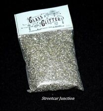 2 oz. Silver / Pewter Glass Glitter - Glittery, Sparkle,  Crafts