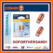 2X OSRAM Original Linea WY5W Lampadine segnale girata Freccia laterale Opel Adam