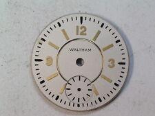 NOS Vintage Waltham 6/0 Size Wristwatch Dial w/seconds  (d-19)