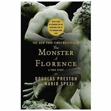 NEW The Monster of Florence by Douglas J. Preston Paperback Book (English) Free