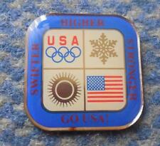 USA WINTER OLYMPIC TEAM PIN BADGE