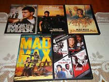 Mad Max DVD Trilogy 1 2 3, Mad Max Fury Road, Lethal Weapon 1-4 (Widescreen DVD)