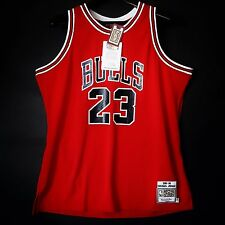 100% Authentic Michael Jordan Mitchell Ness 85 86 NBA Bulls Jersey Size 52 2XL *
