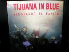 LP TIJUANA IN BLUE sembrando el panico SPAIN OIHUKA 1990 PUNK SKA VINILO VINYL