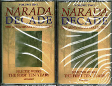 Narada Decade: The Anniversary Collection (2-Cassette) BRAND NEW FACTORY SEALED