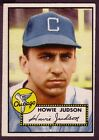1952 TOPPS HOWIE JUDSON  CARD NO:169 EXMINT