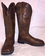 Mens Size 10 EE JUSTIN WK4557 STAMPEDE Comp Toe Cowboy Oil Resisting Snake Boots