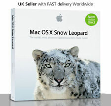 NUOVO Apple Mac OS X 10.6.3 Snow Leopard-ORIGINALE VERSIONE COMPLETA-scorte limitate