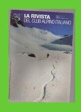 CAI club alpino italiano rivista mensile val S.GIACOMO-MALENCO boemia