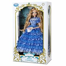 Disney Store Limited Edition Alice In Wonderland Doll LE 500