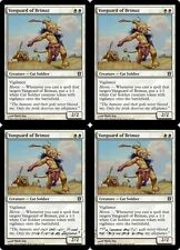 4x VANGUARD OF BRIMAZ Born of the Gods MTG White Creature — Cat Soldier Unc