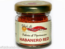 HABANERO IN POLVERE PEPERONCINO RED HOT PICCANTISSIMO 15gr