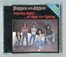 Flotsam & Jetsam  cd-maxi  SATURDAY NIGHT'S ALL RIGHT FOR RIGHTING © 1988 - 4 tr