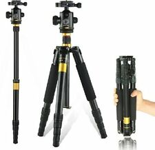 Q666 Portable Collapsible Travel Camera Tripod Monopod NIKON CANON SONY Dslrs
