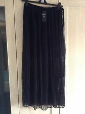 Marks and Spencers Limited Edition double layered lace skirt 12 rrp £45