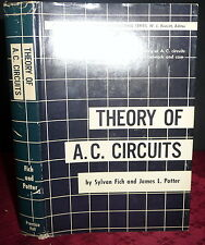 AC Circuits and Network Theory, Fich & Potter, 2V SIGNED Electrical Engineering