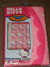 "Hello Kitty Fabric Shower Curtain-72""X72""-New In Package"