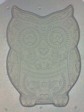 Flexible Resin Chocolate Candy Mold Sugar Skull Owl Mould