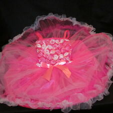 Little GIRL GIFT 4 5 6 FANCY DRESS UP  Boutique PINK TUTU Princess Express X MAS