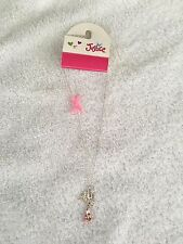 Justice necklace I love Dance