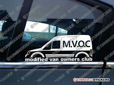 Mvoc modificado van propietarios Club Adhesivo Para Ford Transit Conectar van mk1 alto techo